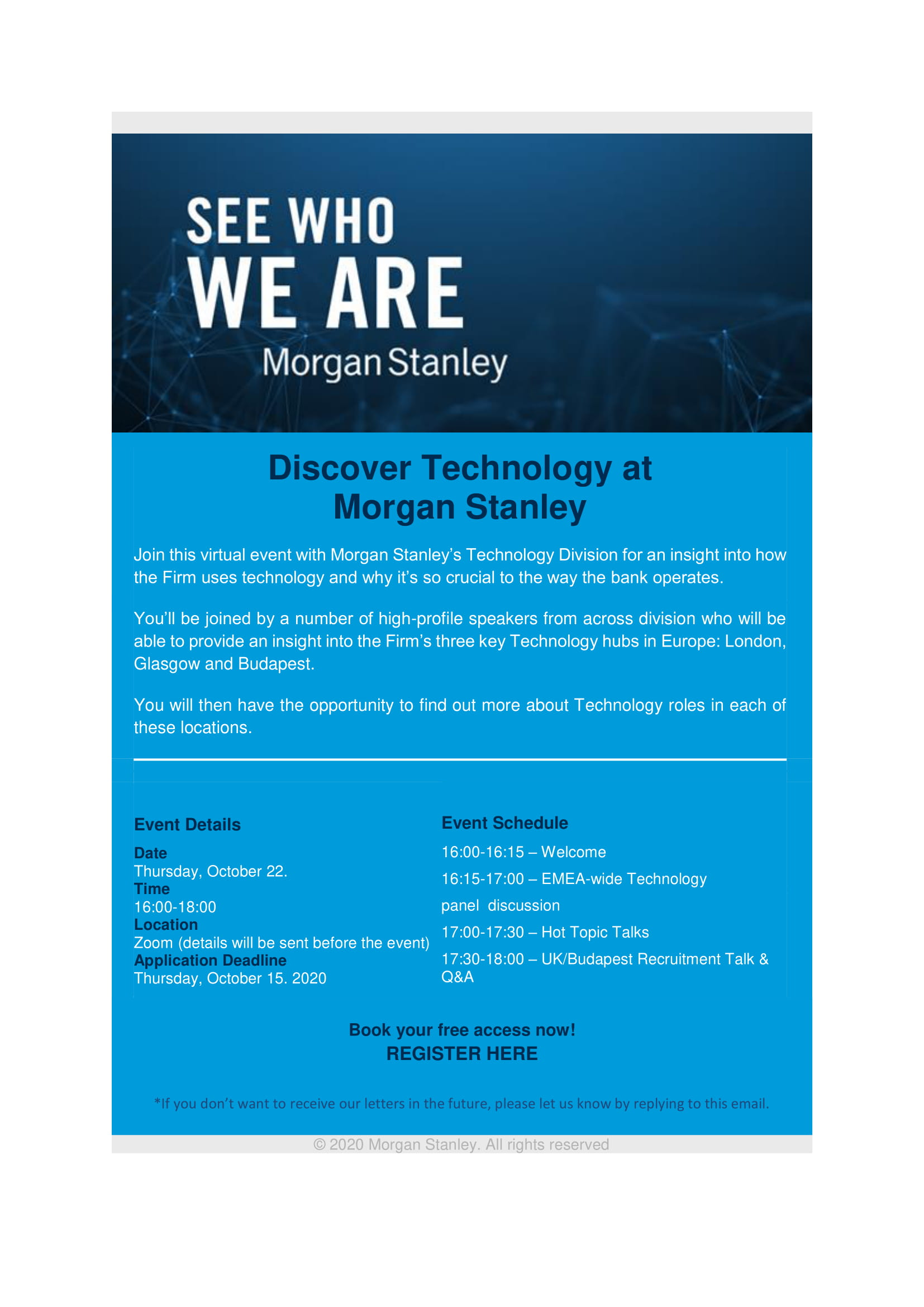 Discover Technology at Morgan Stanley 1